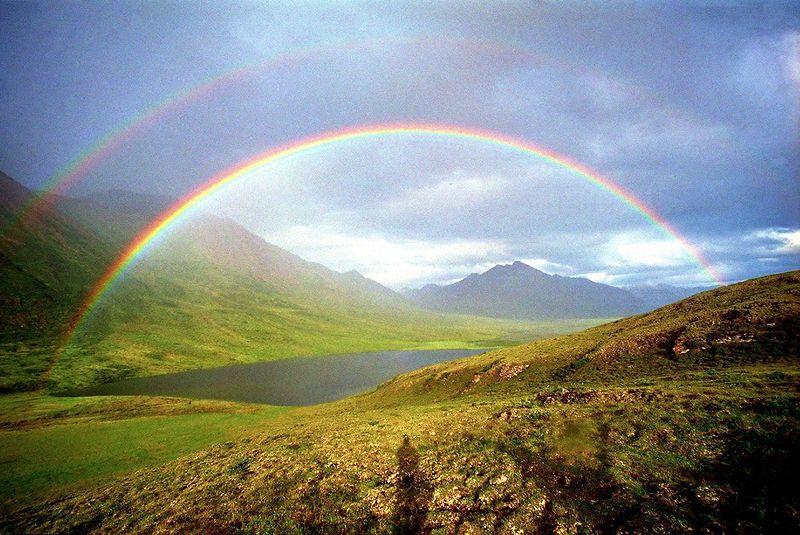 real rainbow wallpaper - photo #30